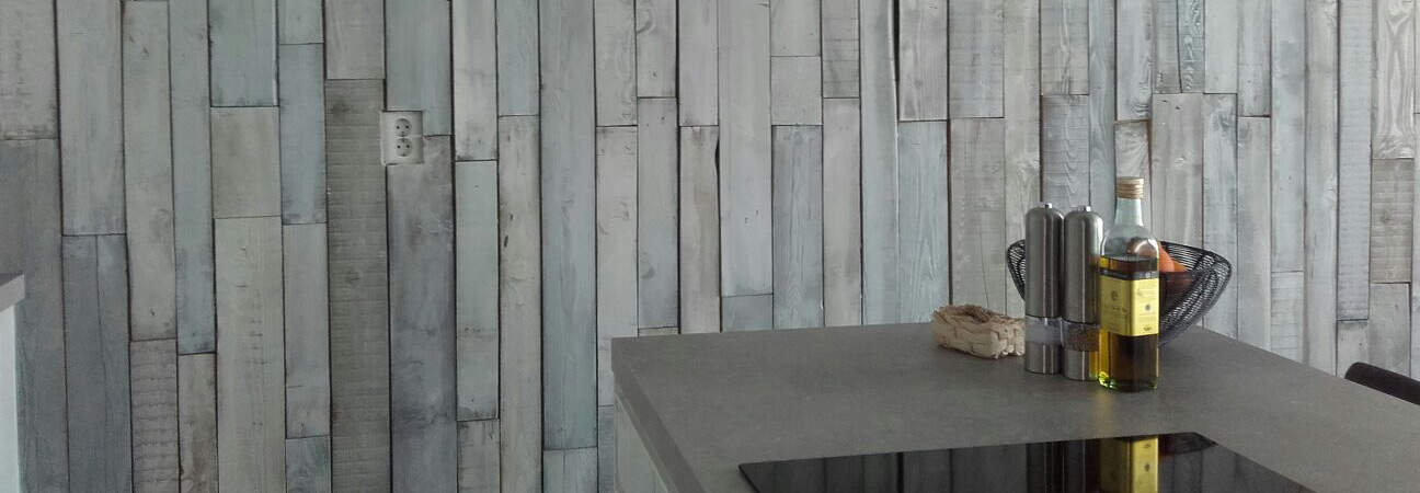 Houten wandbekleding wanden van steigerhout woodindustries - Ontwerp wandbekleding ...
