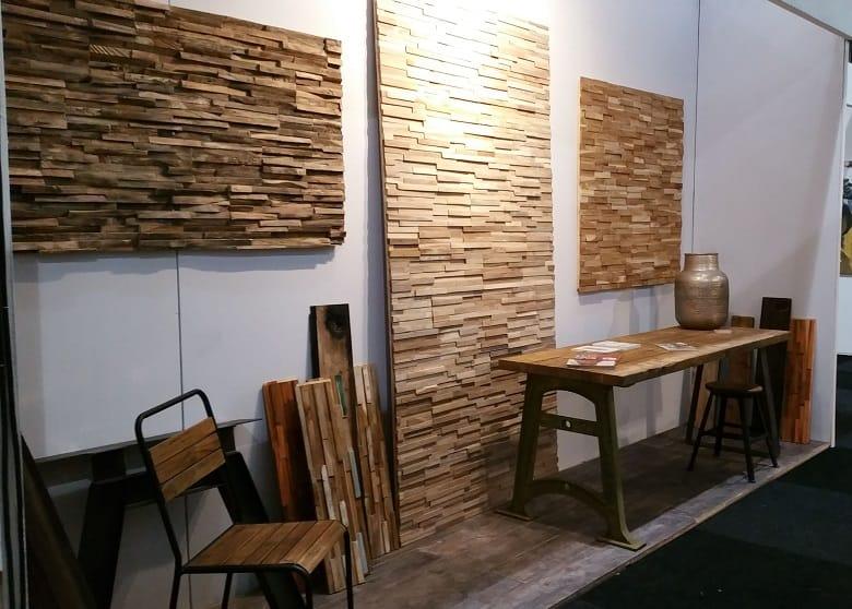 Houten Wandpanelen Slaapkamer : Houtstrips rainforest white woodindustries