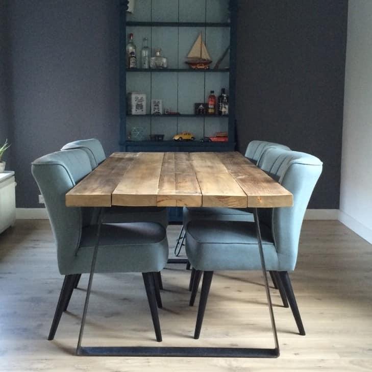 Eettafel Extra Lang.Industriele Eettafel Smood By Woodindustries Jouw Online