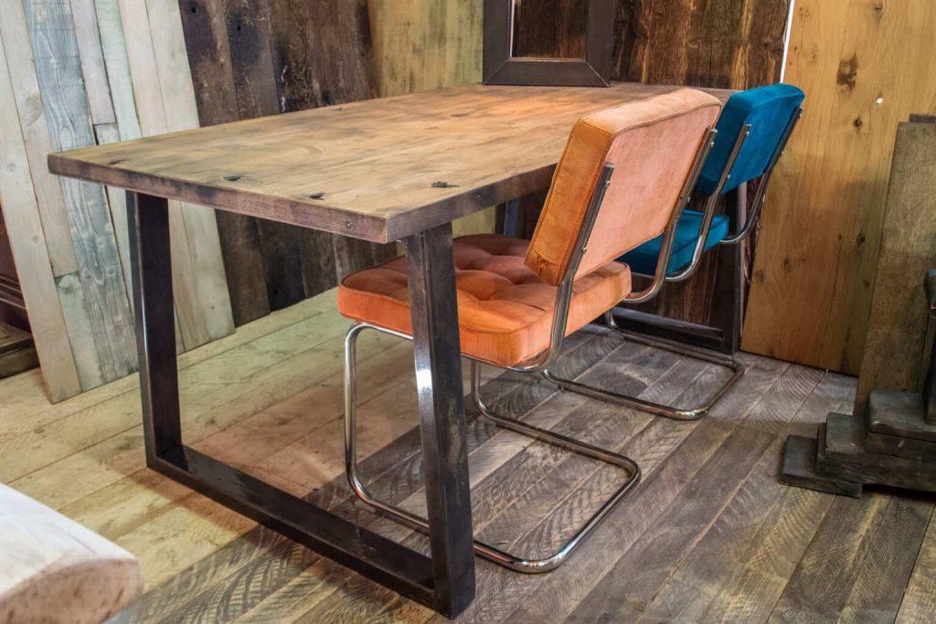 Grote Houten Tafels : Eiken houten tafels