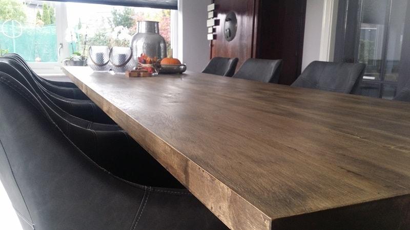 Eiken Eettafel 140 X 80.Eiken Houten Tafels Met De Hand Gemaakt Woodindustries