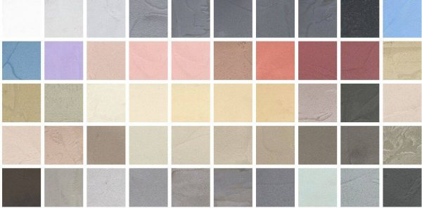 Kleurenstaal beton