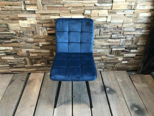 zachte blauwe stoel