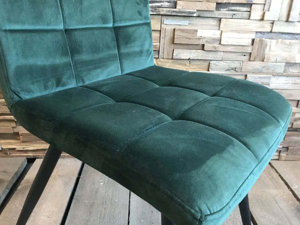 olijf groene stoel