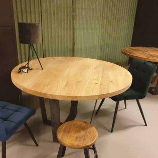 ronde eiken tafel Enschede