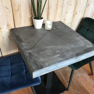 horeca tafel top beton