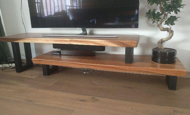 Houten Tv Meubel Op Maat.Suar Tv Meubel Op Maat Handmade By Woodindustries Nl
