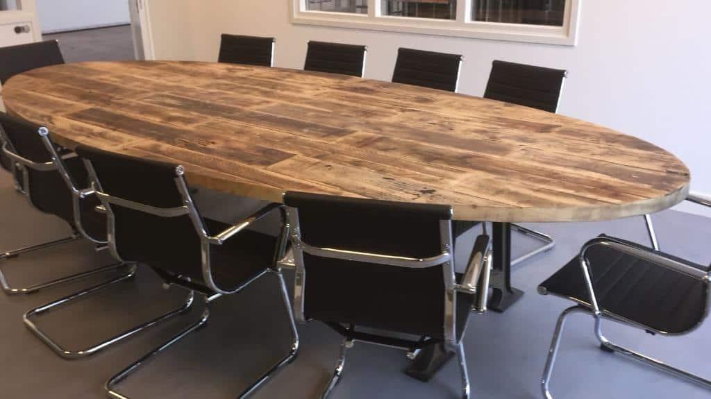 Verrassend Koop de Robuuste vergadertafel ovaal 3 meter (8-10 personen) bij UE-86