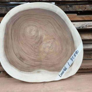 Suar boomstamblad rond 75x90