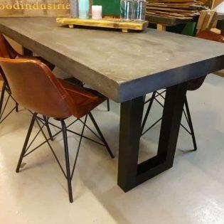 betontafel antraciet