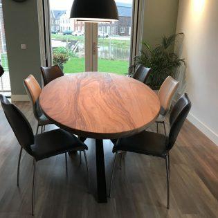 robuuste suar tafel ovaal