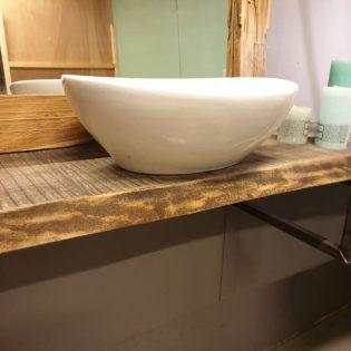 barnwood badkamermeubel 50 cm