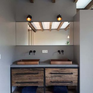 robuust badkamermeubel beton