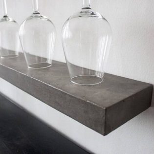 Wandplank beton 50 cm diep