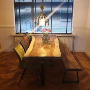 Suar boomstamtafel - Schoonhoven 200 cm