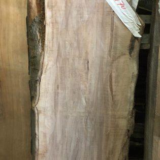 Eiken boomstam tafeltop LE011
