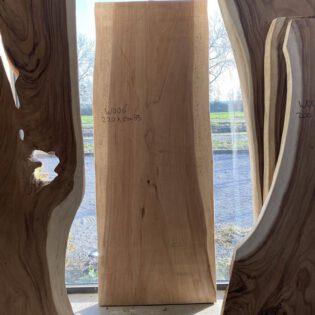 Suar houten boomstam 220x85x7