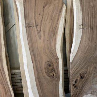 Suar houten boomstam 200x80x7