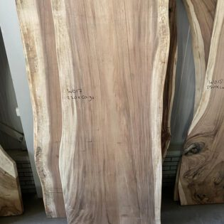 Suar houten boomstam 220x90x7
