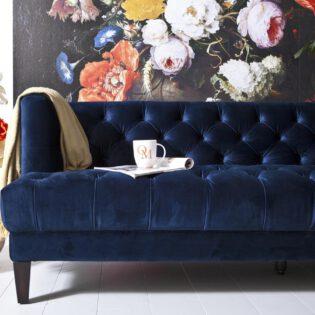 Bank Vogue - Blauw