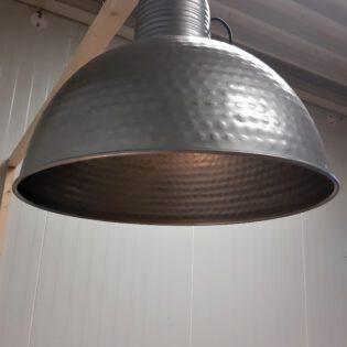 Industriële hanglampen - grey