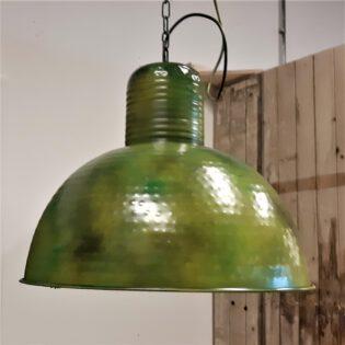 Industriële hanglampen - green
