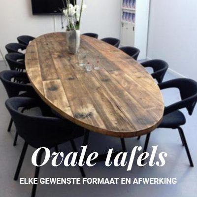 Ovale-Houten-Tafels